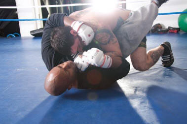 Mixed Martial Arts combatants learn fight strategies, boxing, judo, grappling and kung fu as well as other disciplines.