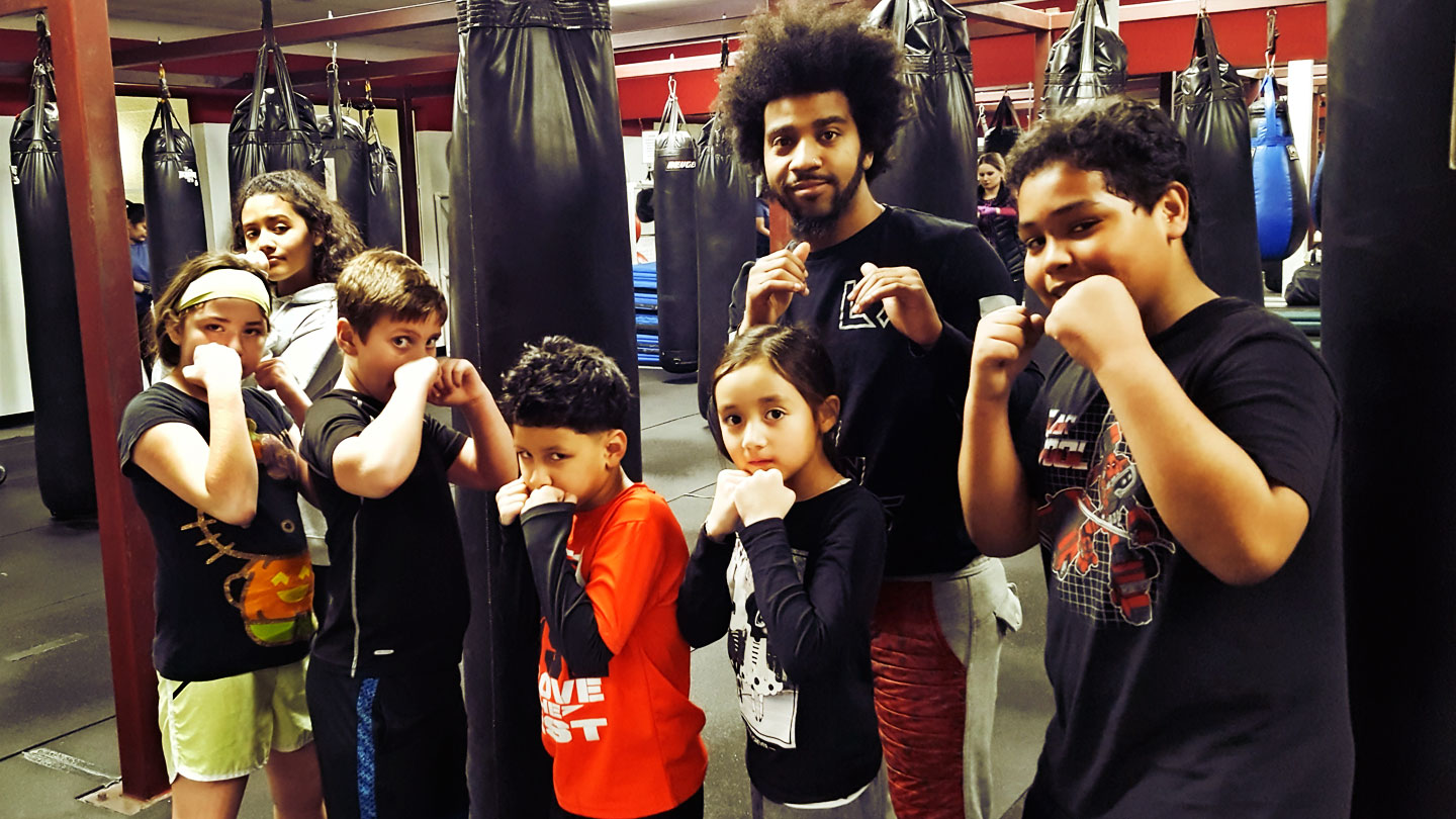 Kids boxing and martial arts classes in a fun and safe environment